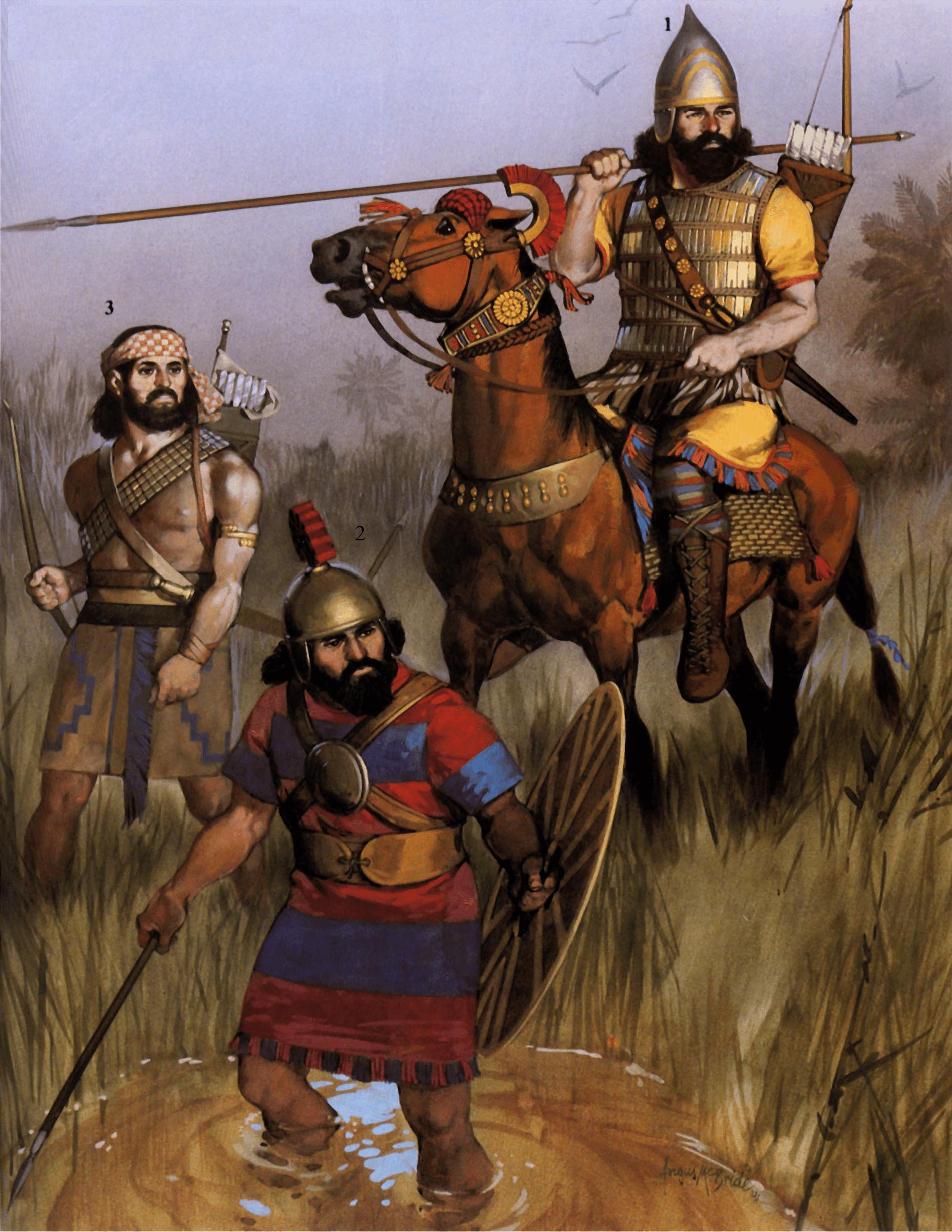 Guerreros-Asirios