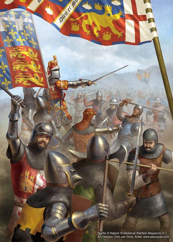 Resultado de imagen de batalla de najera