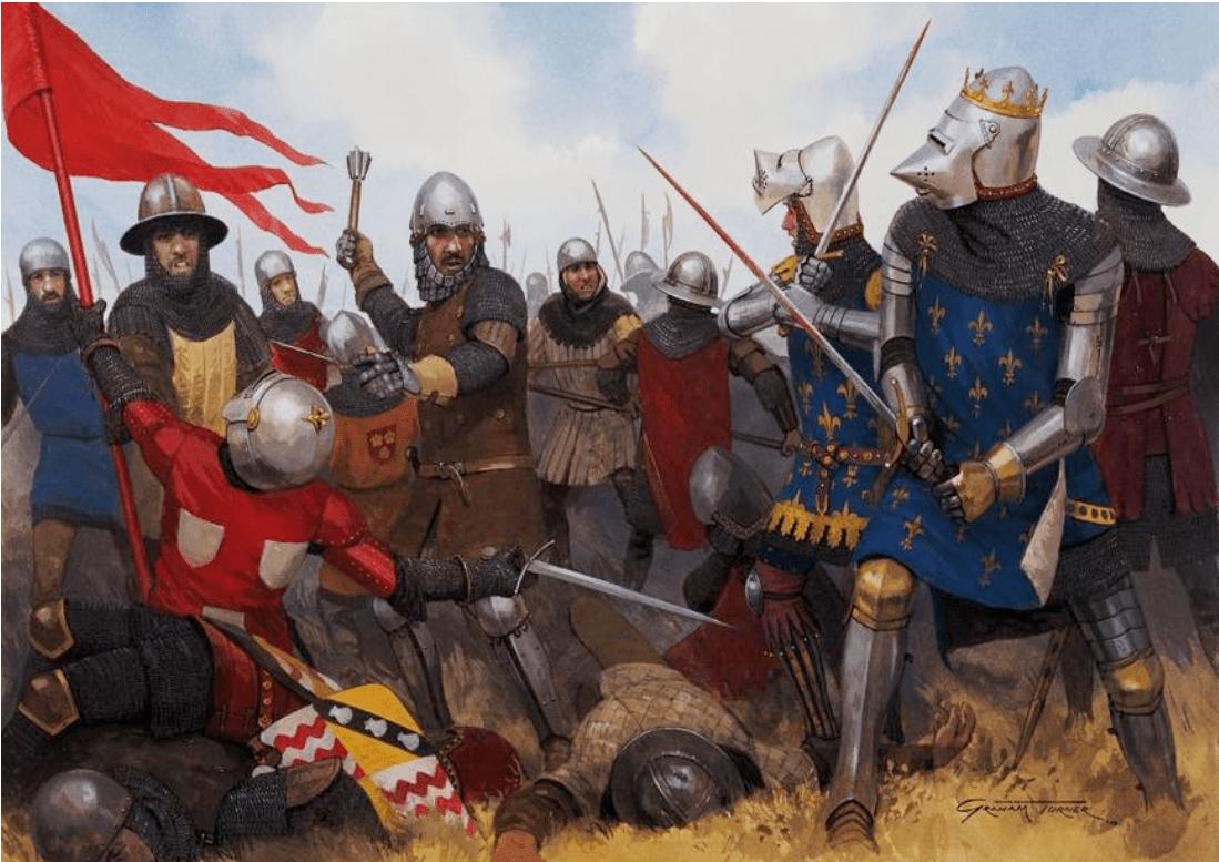 Resultado de imagen de batalla de poitiers 1356