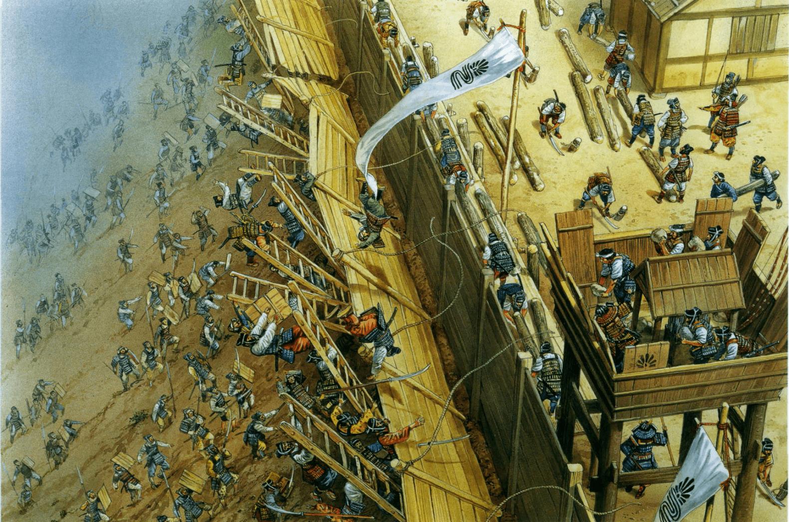 Guerra Genko y caída del shogunato de Kamakura (1331-33) - Arre caballo!